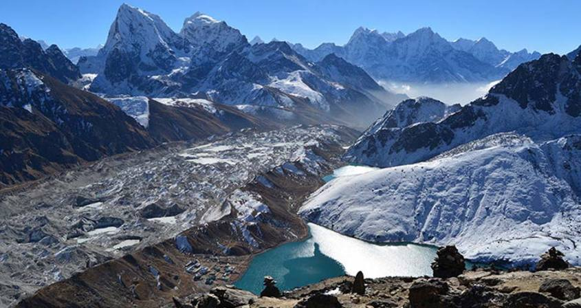 Everest Base Camp Trekking via Gokyo Lakes