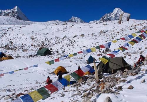 Baruntse Base Camp Trekking