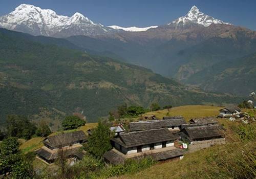 Ghandrung-Chhomrong-Astam Trek