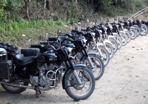 Motorbike Tour in Nepal